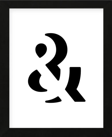 Ampersand (Framed) -  Simon C. Page - McGaw Graphics