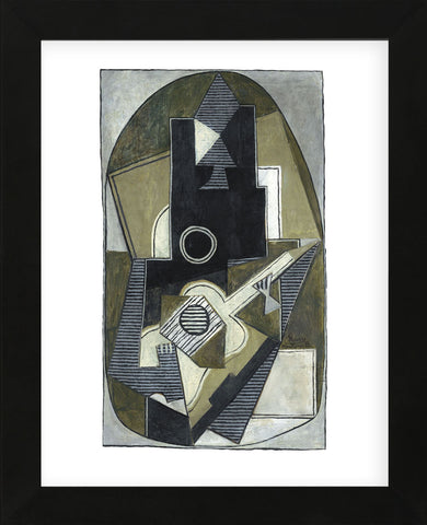 L'Homme a la Guitare, 1918 (Framed) -  Pablo Picasso - McGaw Graphics