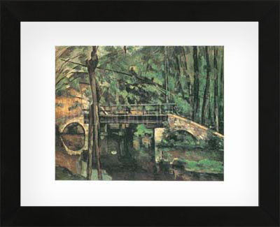 Bridge of Maincy Melun  (Framed) -  Paul Cezanne - McGaw Graphics