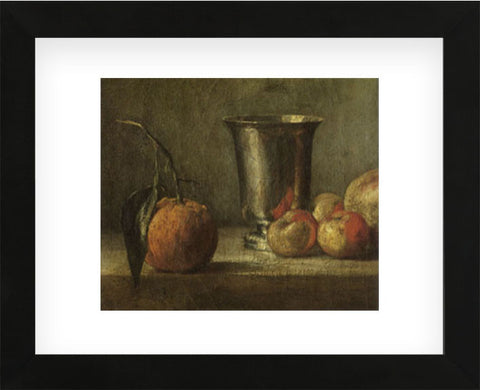 Seville Orange  (Framed) -  Jean-Baptiste-Siméon Chardin - McGaw Graphics