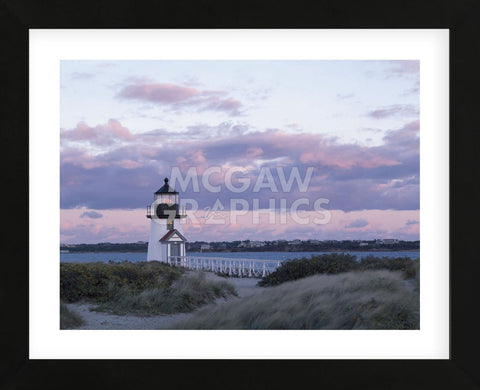 Brant Point Light  (Framed) -  Paul Rezendes - McGaw Graphics