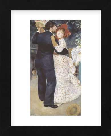 Dance in the Country  (Framed) -  Pierre-Auguste Renoir - McGaw Graphics