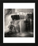 Waterfall, Study #1  (Framed) -  Andrew Ren - McGaw Graphics