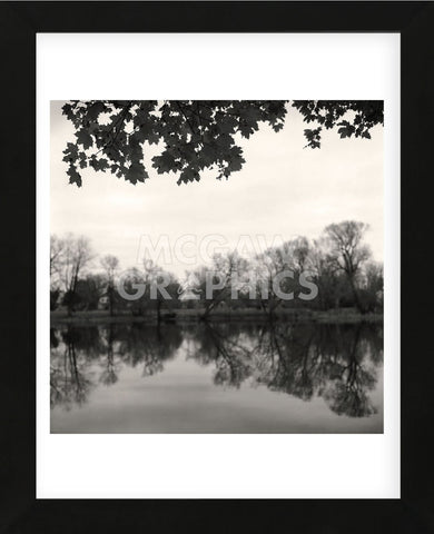 Rideau River, Study #2  (Framed) -  Andrew Ren - McGaw Graphics
