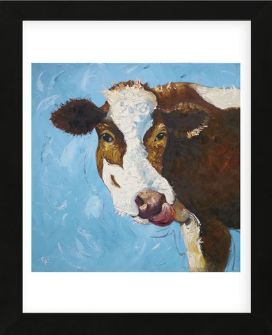 Cow #303 (Framed) -  Roz - McGaw Graphics