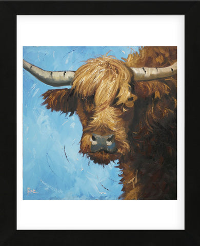 Cow #301 (Framed) -  Roz - McGaw Graphics