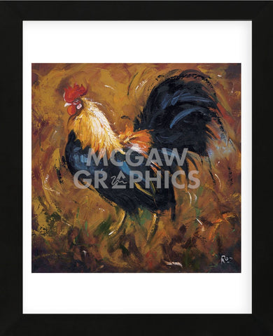 Rooster #502 (Framed) -  Roz - McGaw Graphics