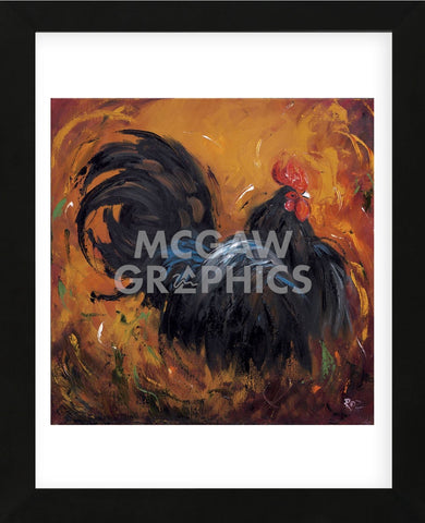 Rooster #501 (Framed) -  Roz - McGaw Graphics