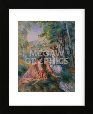 In the Meadow (Framed) -  Pierre-Auguste Renoir - McGaw Graphics