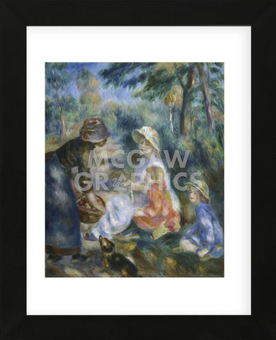 The Apple Seller, c.1890  (Framed) -  Pierre-Auguste Renoir - McGaw Graphics
