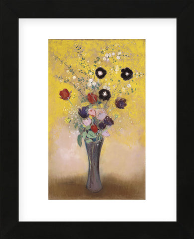 Vase of Flowers, 1916  (Framed) -  Odilon Redon - McGaw Graphics