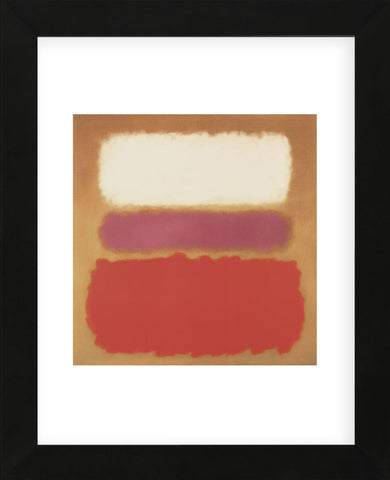 White Cloud Over Purple, 1957  (Framed) -  Mark Rothko - McGaw Graphics