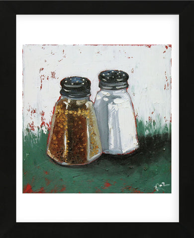 Salt and Pepper 27 (Framed) -  Roz - McGaw Graphics