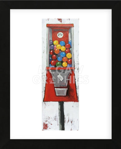 Gumballs 7 (Framed) -  Roz - McGaw Graphics