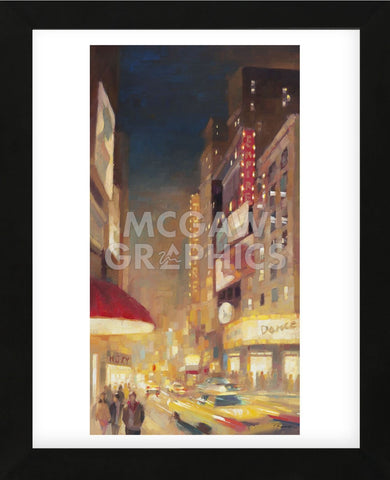 City Lights (Framed) -  Paulo Romero - McGaw Graphics