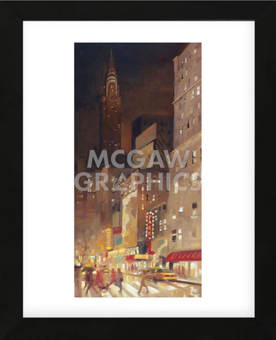 City (Framed) -  Paulo Romero - McGaw Graphics