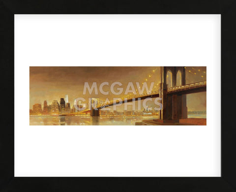 Brooklyn Bridge (Framed) -  Paulo Romero - McGaw Graphics