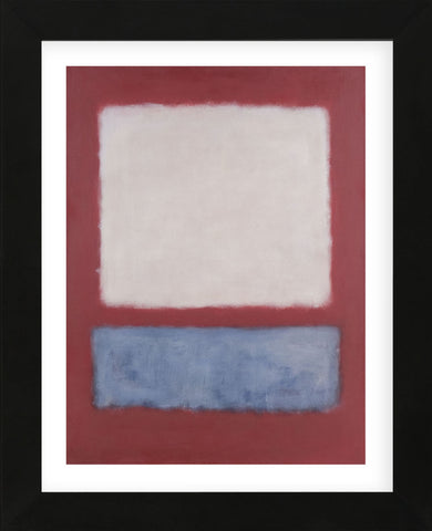 Light over Gray, 1956 (Framed) -  Mark Rothko - McGaw Graphics