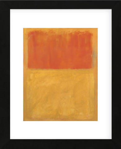 Mark Rothko - Orange and Tan, 1954