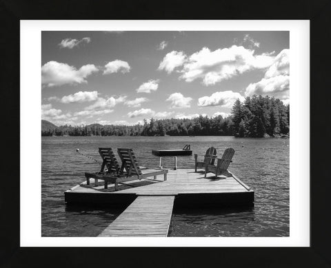 Adirondack Dock (Framed) -  Erik Richards - McGaw Graphics