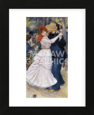 Dance at Bougival (Framed) -  Pierre-Auguste Renoir - McGaw Graphics