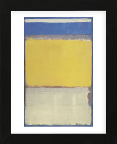 Number 10  (Framed) -  Mark Rothko - McGaw Graphics