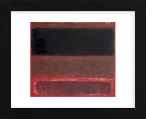 Four Darks in Red, 1958  (Framed) -  Mark Rothko - McGaw Graphics