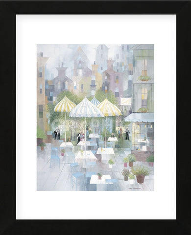 Cafe Montmartre  (Framed) -  Albert Swayhoover - McGaw Graphics