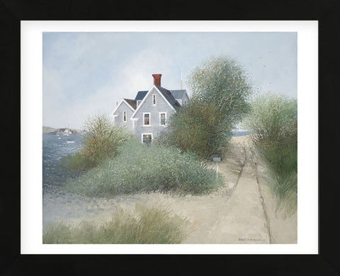 Old Beach Road (Framed) -  Albert Swayhoover - McGaw Graphics