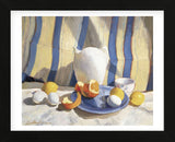 Pitcher with Eggs and Oranges (Framed) -  Tony Saladino - McGaw Graphics
