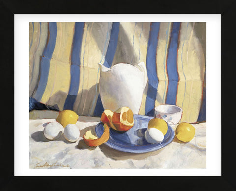 Tony Saladino - Pitcher with Eggs and Oranges