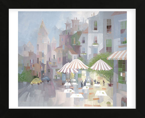 Place du Tertre  (Framed) -  Albert Swayhoover - McGaw Graphics