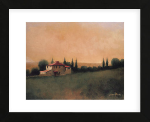 Stairway to Tuscany  (Framed) -  Thomas Stotts - McGaw Graphics