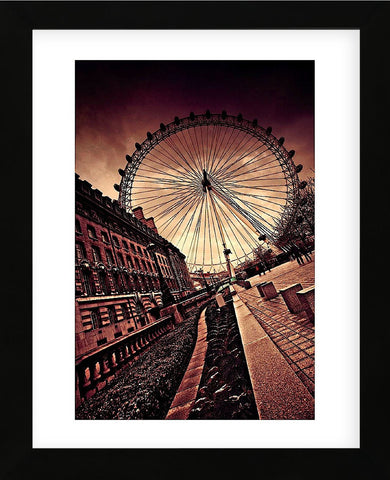 London Eye (Framed) -  Marcin Stawiarz - McGaw Graphics