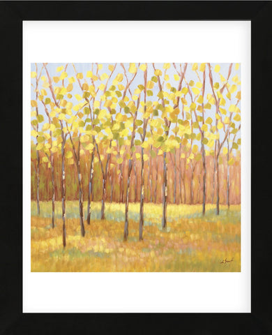 Yellow and Green Trees (center) (Framed) -  Libby Smart - McGaw Graphics