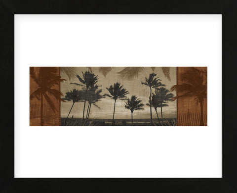 Sunlit Palms I (Framed) -  Harold Silverman - McGaw Graphics