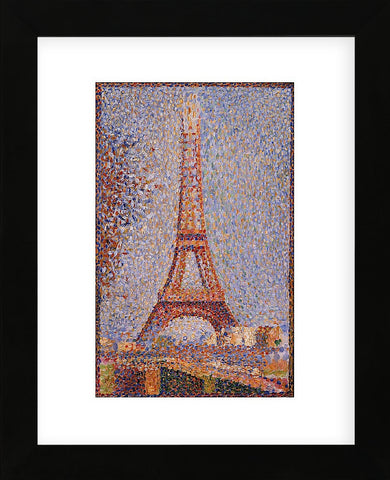 Georges Seurat - Eiffel Tower, ca. 1889