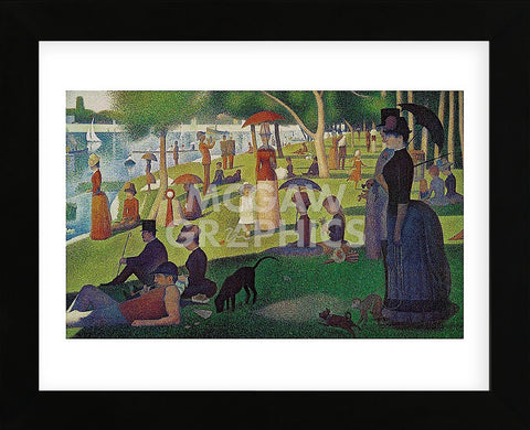 Georges Seurat - Sunday Afternoon on the Island of Grand Jatte 1864-6