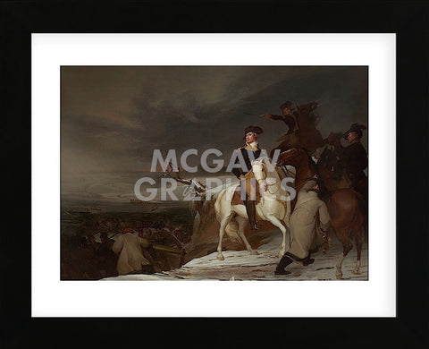 The Passage of the Delaware, 1819 (Framed) -  Thomas Sully - McGaw Graphics