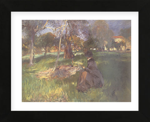 In an Orchard  (Framed) -  John Singer Sargent - McGaw Graphics