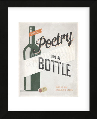 Poetry in a Bottle (Framed) -  Luke Stockdale - McGaw Graphics