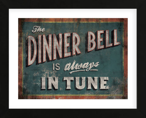 The Dinner Bell (Framed) -  Luke Stockdale - McGaw Graphics