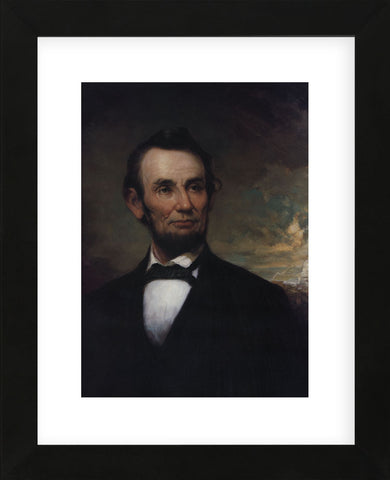 Abraham Lincoln (Framed) -  George Henry Story - McGaw Graphics