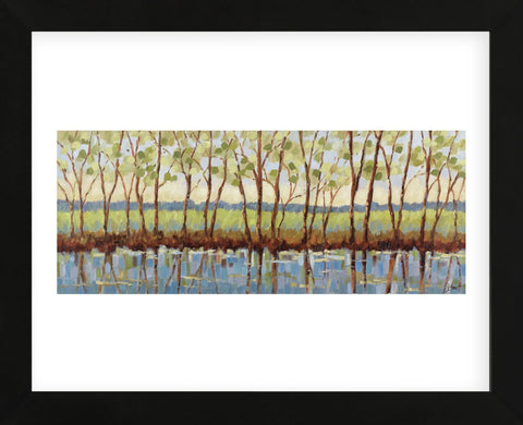 Along the River Bank (Framed) -  Libby Smart - McGaw Graphics
