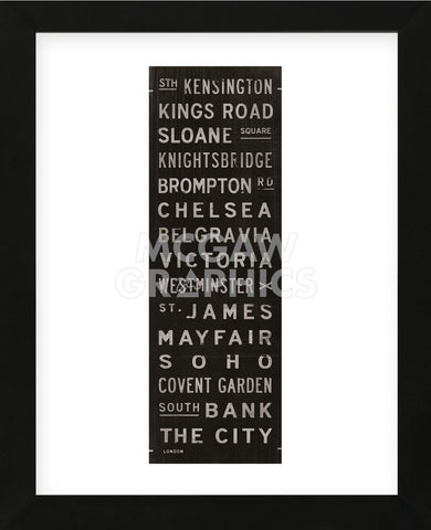 London I (Framed) -  Luke Stockdale - McGaw Graphics