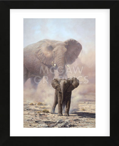 Amboseli Child African Elephant (Framed) -  John Seerey-Lester - McGaw Graphics