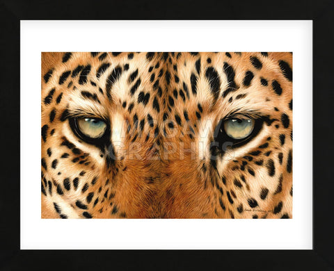 Sarah Stribbling - Leopard Eyes Painting