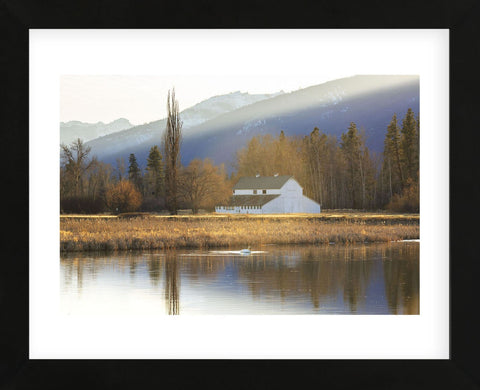 Montana Barn (Framed) -  Jason Savage - McGaw Graphics