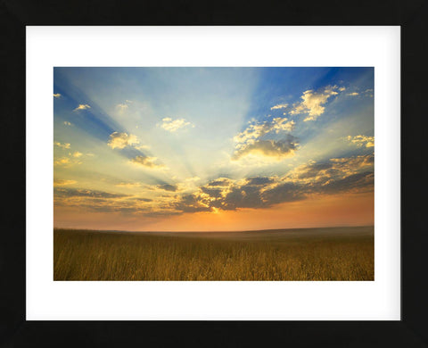 Montana Sunrise (Framed) -  Jason Savage - McGaw Graphics