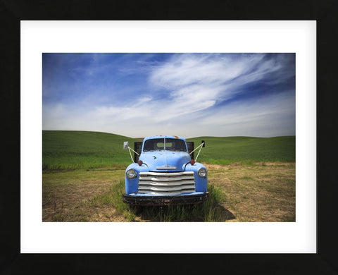 Old Truck Palouse (Framed) -  Jason Savage - McGaw Graphics
